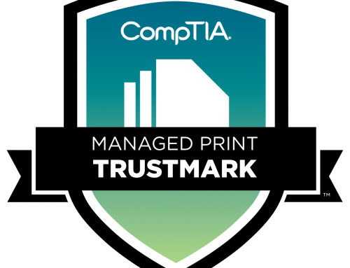 OneDOC Managed Print Services Earns CompTIA MPS Trustmark Certification